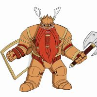 dwarf character: Drimirg by Minerghost