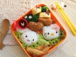 Hello Kitty and Cinamonroll Bento by loveewa