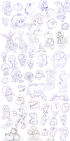 Doodles 5 by Nintendrawer