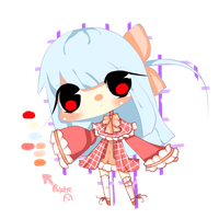 Second Adoptable!: Cherry Winter Lolita~! by Lizanottes