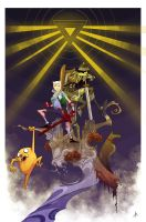 Awesome Adventure Time! by YopparattaNoSaru