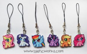 MLP: FiM Charms by Soul-Soar