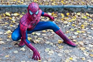 Lucca CG 2011 Mar: Spiderman 1 by LarsVanDrake