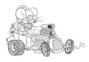 Mouse of a Different Fueler by TaralWayne
