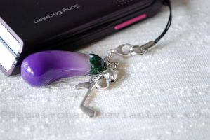 Gakupo eggplant charm by romanletters