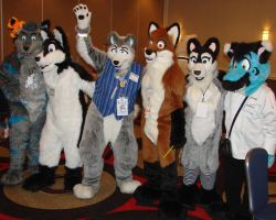 Characters at RMFC 2009 - 002 by LycanDID