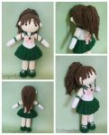 Sailor Jupiter Amigurumi Plush Doll by xMangoRose