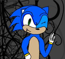 fail at drawing sonic by goicesong1