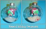Metroid Holiday Ornament by YellerCrakka