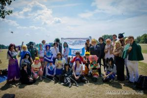 cancer research cosplay meet 2014 by KairiCosplayHearts