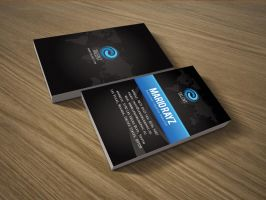 Talent corporate business card by Lemongraphic