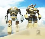 Mecha Duo by Bamboo-Learning