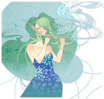 Playing the Melody by FinalFlower