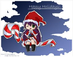 Santa Lulu by littleredren