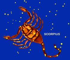 Constellation Scorpius by VitaZheltyakov