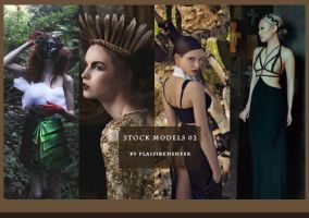STOCK PACK - Models 02 by plaisirenenfer