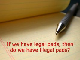Legal Pad Paradox by JanetAteHer