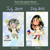 Draw The Angel Again Meme! by marimariakutsu