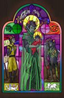 Mother Dolorosa by Skypup