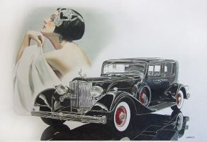 Packard by johnwickart