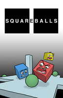 'Squareballs' Concept Poster by captainslam