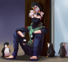 etho n penguins by pipamir