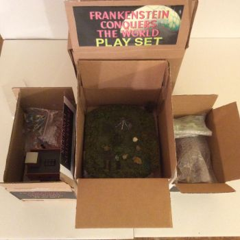 Kaiju Frankenstein Play Set by GoobleGobbleStudios