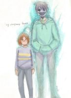 Doodle: My imaginary friend by tunaniverse
