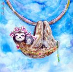 Sloths by betimoo