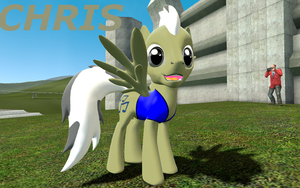 Chris Garrysmod Pony OC by LunarGuardWhoof