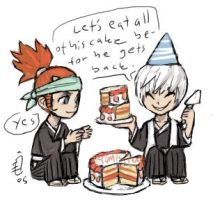 Renji and Gin by emlan