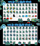 Marc the Shiny Totodile Shimeji +FREE+ by Cachomon