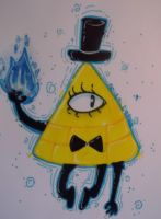 Bill Cipher by Ao-No-Lupus