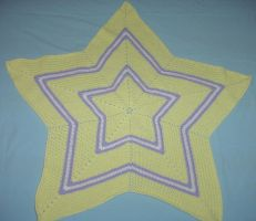 Little Star Afghan for Amelia by ArielManx