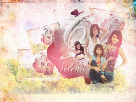 Selena Gomez Wallpaper by lnx03