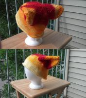 Sunfire Wolf Hat by aetherfang