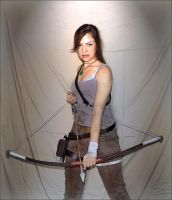 Lara Croft In Combat 2 by Slatena