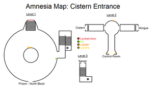 Amnesia Map: Cistern Entrance by HideTheDecay