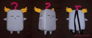 Mokey Mokey Plush-Backpack by jacemoore
