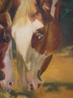 Oil painting detail - Glory by Marbletoast