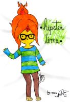 Princesa Flama HipsterxD by marcisofi
