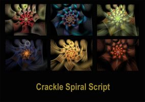 Crackle Spiral Script by Kabuchan