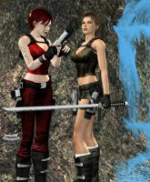 Lara and Diana OK. Let's play by Hiddenus