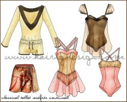 Classical Ballet Designs 3 by kairi-g