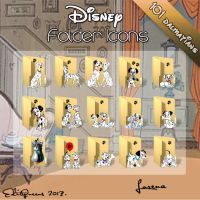 Disney Folder Icons - 101 Dalmatians by EditQeens