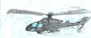 AIRWOLF by madmick2299