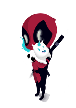 Deadpool - Merc with a mouth by Wie-e