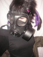 Gas mask VI by Ataraxi-Stock