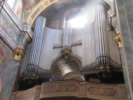 Lublin- cathedral- pipe organs by kwizar
