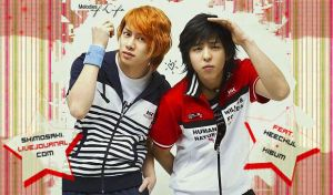 HeeChul+KiBum Header by crying-ophelia